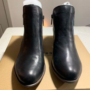 NIB Lucky Brand Black Basel Flat Bootie 7